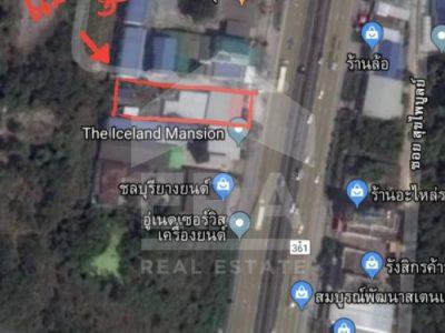 ขายที่ดินเปล่า โซนบายพาสพนัส-บายพาสบ้านบึง ต.นาป่า อ.เมืองชลบุรี จ.ชลบุรี (I-Net : 572997)