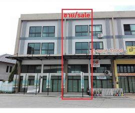 ขายอาคารพาณิชย์ 3ชั้นครึ่ง โซนเสม็ด ต.เสม็ด อ.เมืองชลบุรี จ.ชลบุรี (I-Net : 573984)