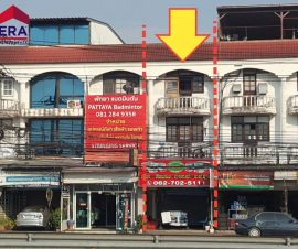 ขายอาคารพาณิชย์ 3.5ชั้น โซนบางละมุง ต.หนองปรือ อ.บางละมุง จ.ชลบุรี(574270)