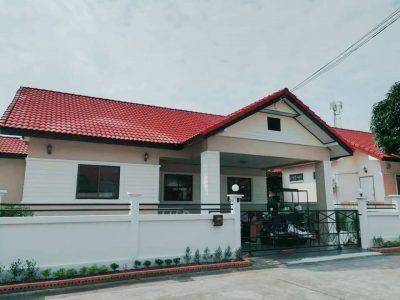 ขายบ้านเดี่ยวชั้นเดียว หมู่บ้านเมืองประชา ไพรเวซ์3 ต.สุรศักดิ์ อ.ศรีราชา จ.ชลบุรี(574240)