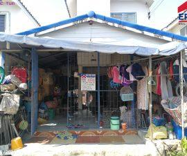 ขายบ้านเดี่ยว2ชั้น หมู่บ้านเอื้ออาทร ต.บ้านเซิด อ.พนัสนิคม จ.ชลบุรี(574331)