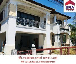 ขายบ้านเดี่ยว2ชั้น หมู่บ้านคันทรีโฮม2 ต.สุรศักดิ์ อ.ศรีราชา จ.ชลบุรี(574597)