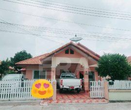 ขายบ้านเดี่ยวชั้นเดียว ม.ห้วยปราบเมืองทอง ต.บ่อวิน อ.ศรีราชา จ.ชลบุรี(I-Net:574910)
