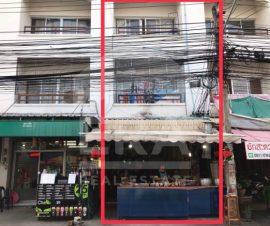 ขายอาคารพาณิชย์3ชั้น หลังตึกน้ำ บ้านสวน จ. ชลบุรี(I-Net :575036)